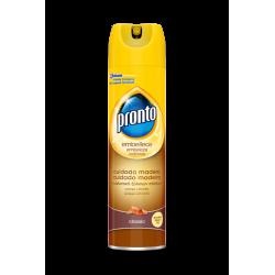 Pronto limpiamuebles spray...